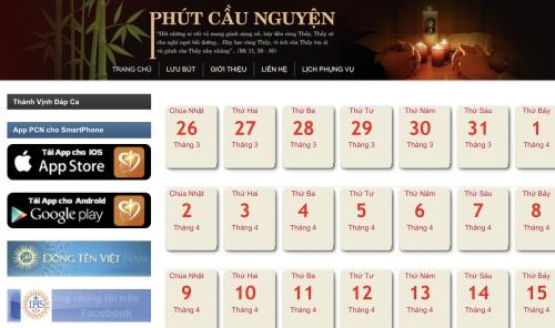 PCN webpage